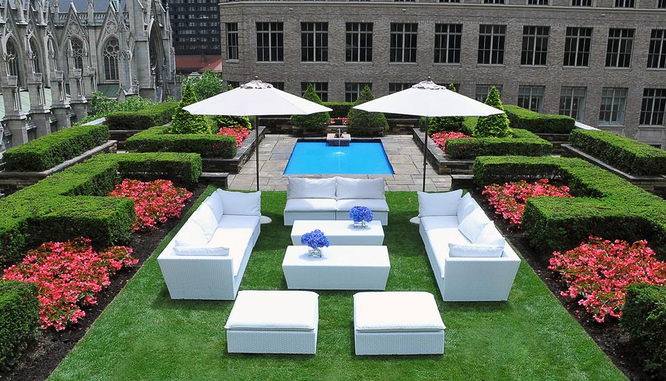 roof garden reception