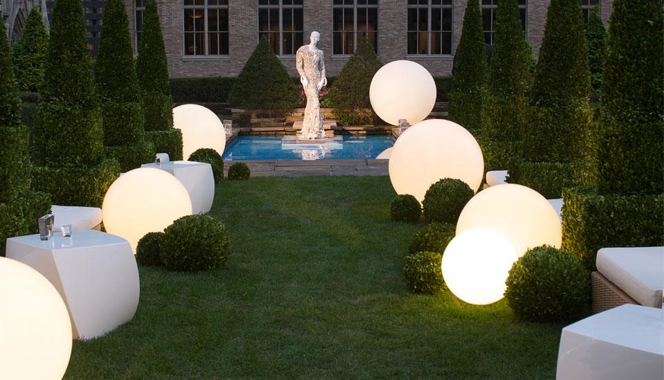 glowing garden