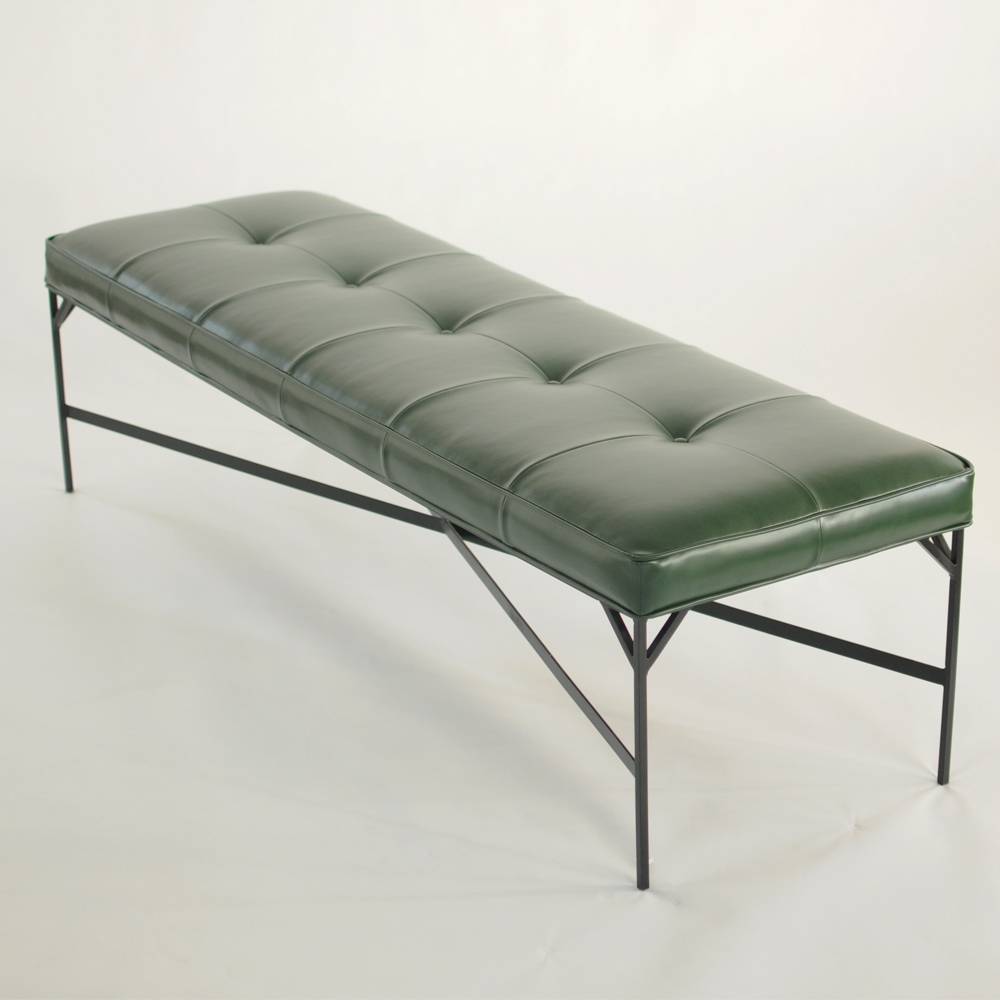 studio bench green
