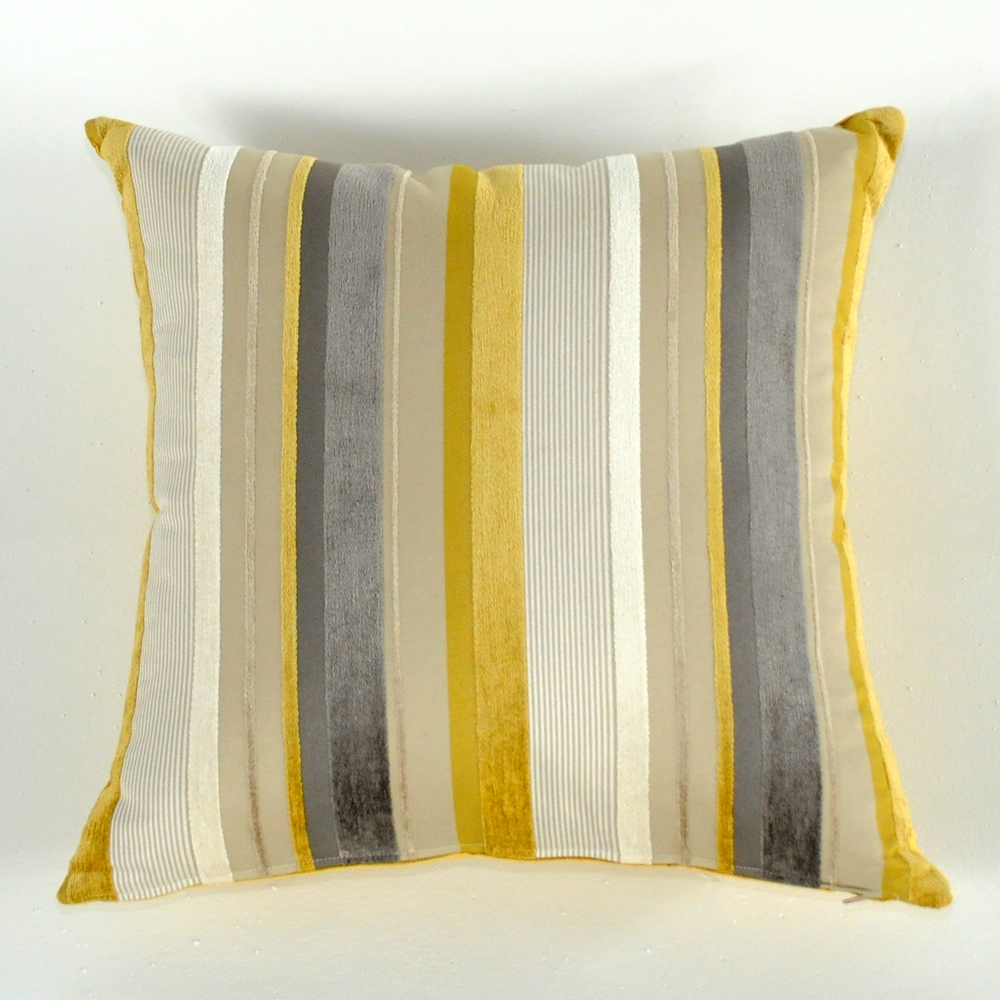 karat stripe pillow