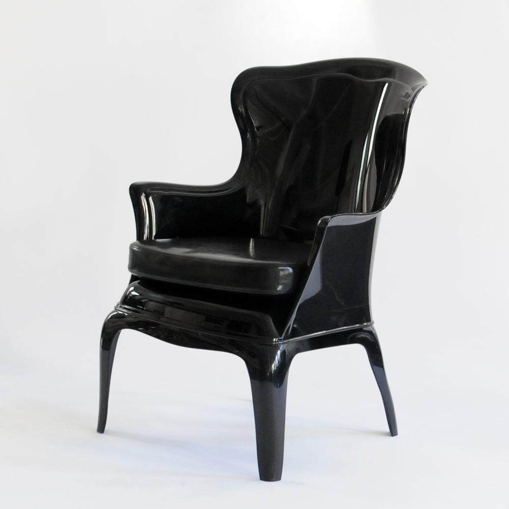 tyler chair black