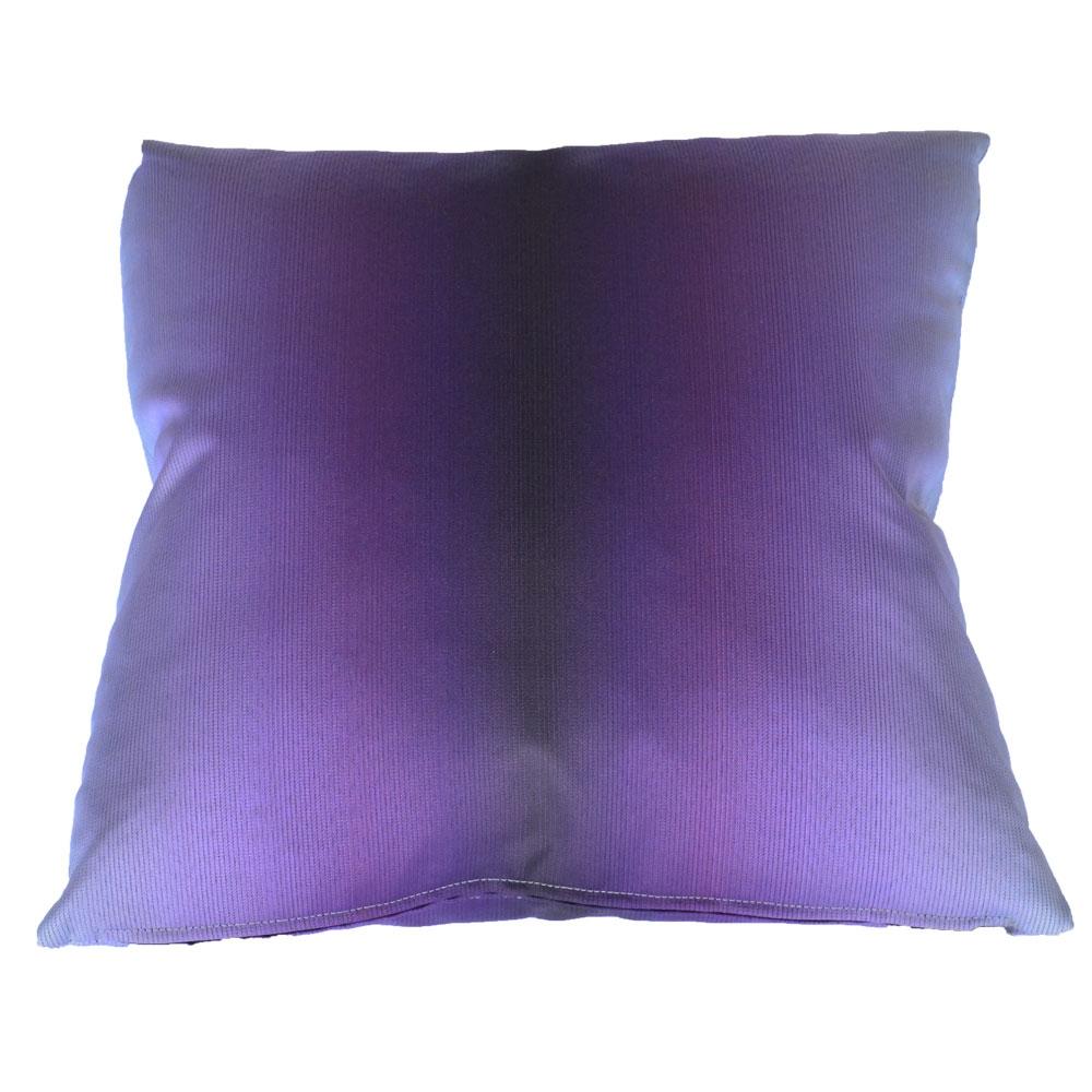 gradient purple pillow