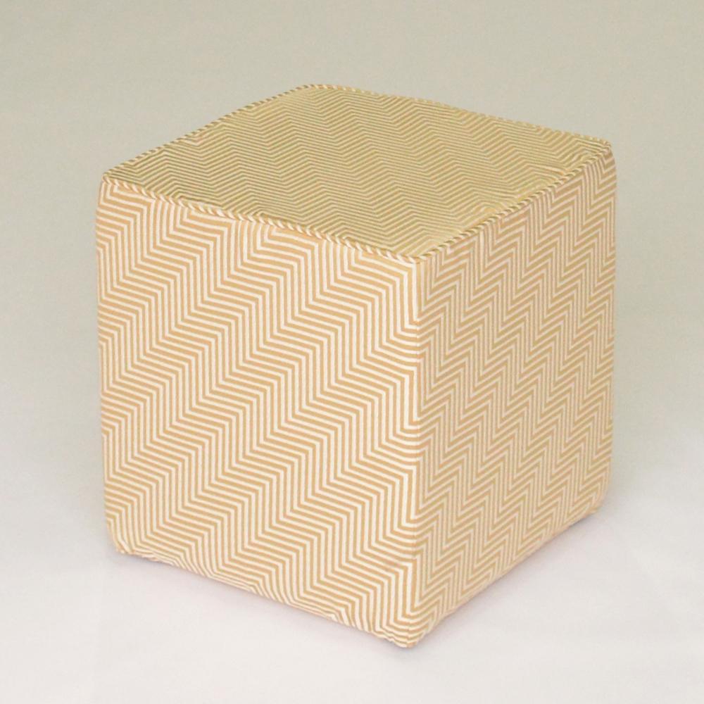oscar cube chevron gold