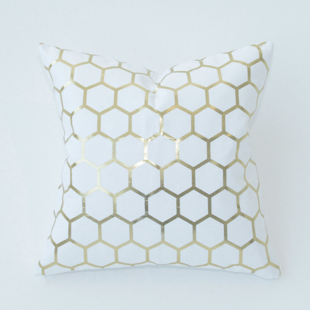 bee hive pillow