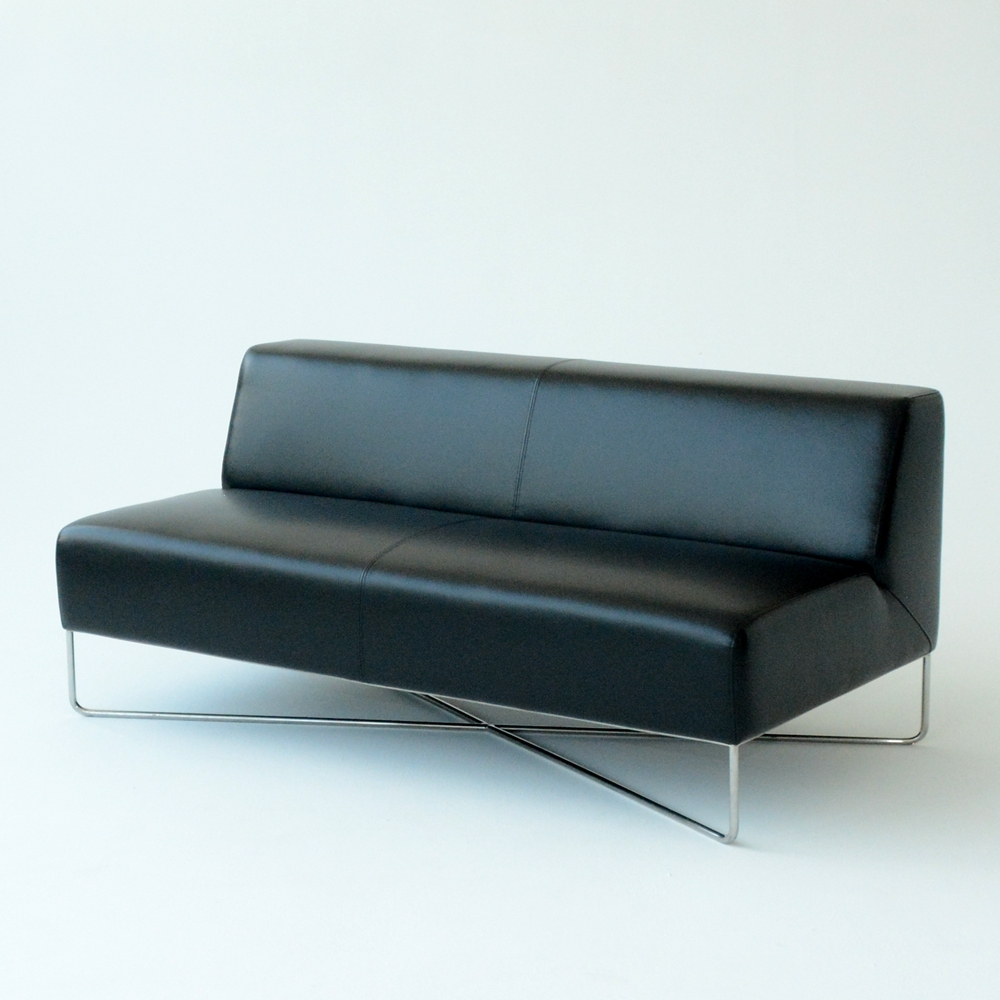 balance sofa black