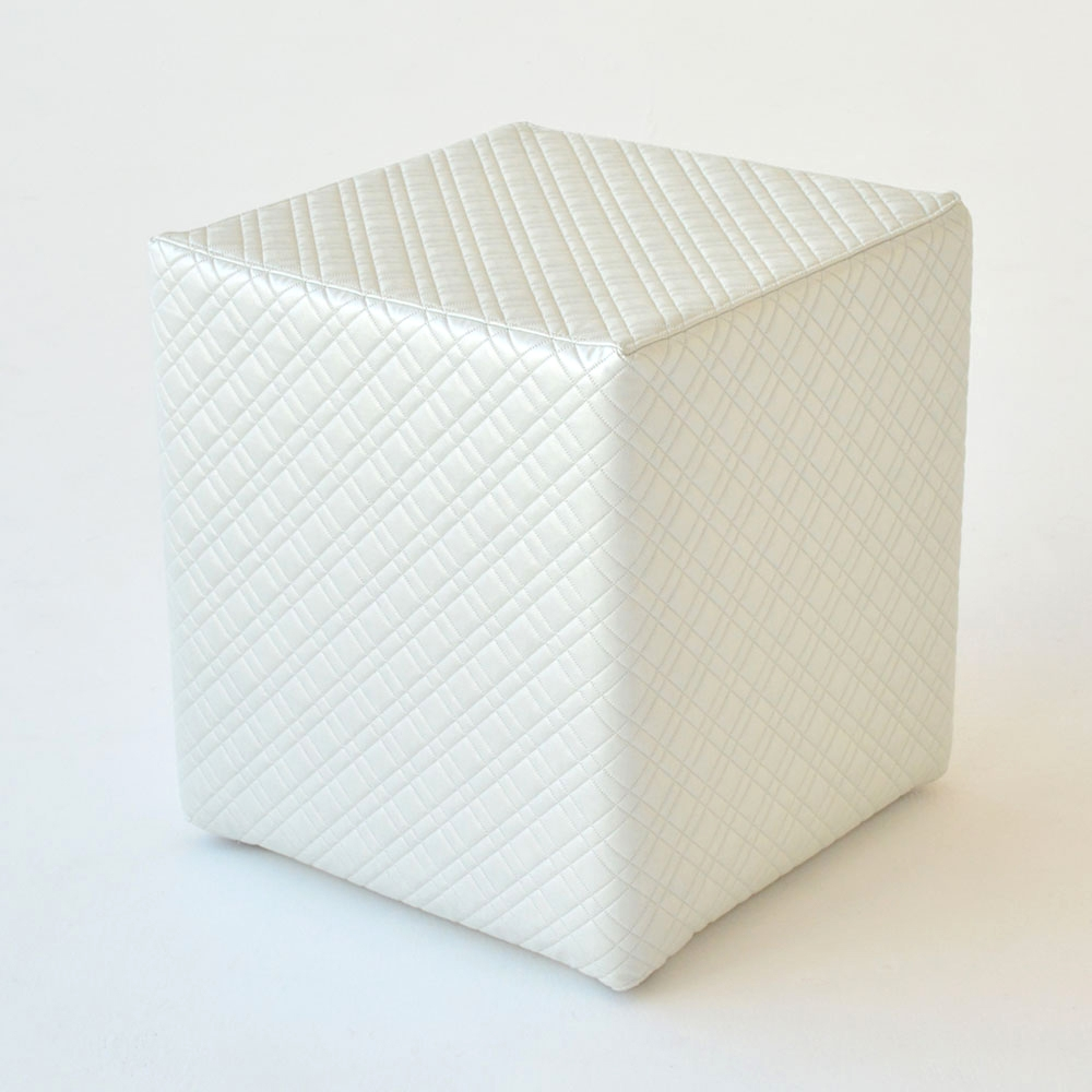 oscar cube evo plaid frost white