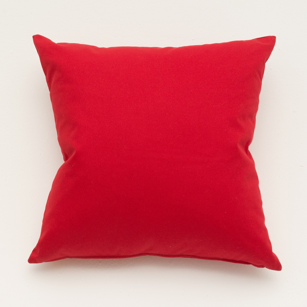 pure red pillow