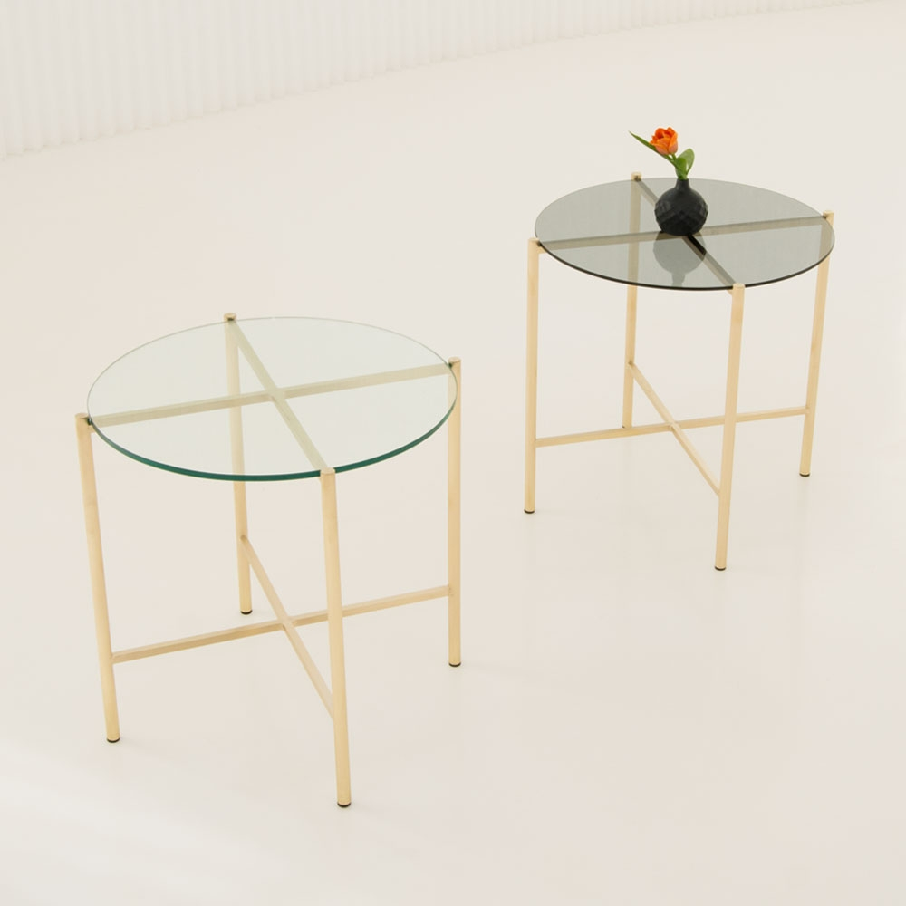 maxwell round side table collection