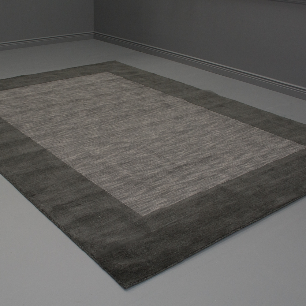 regent area rug gray