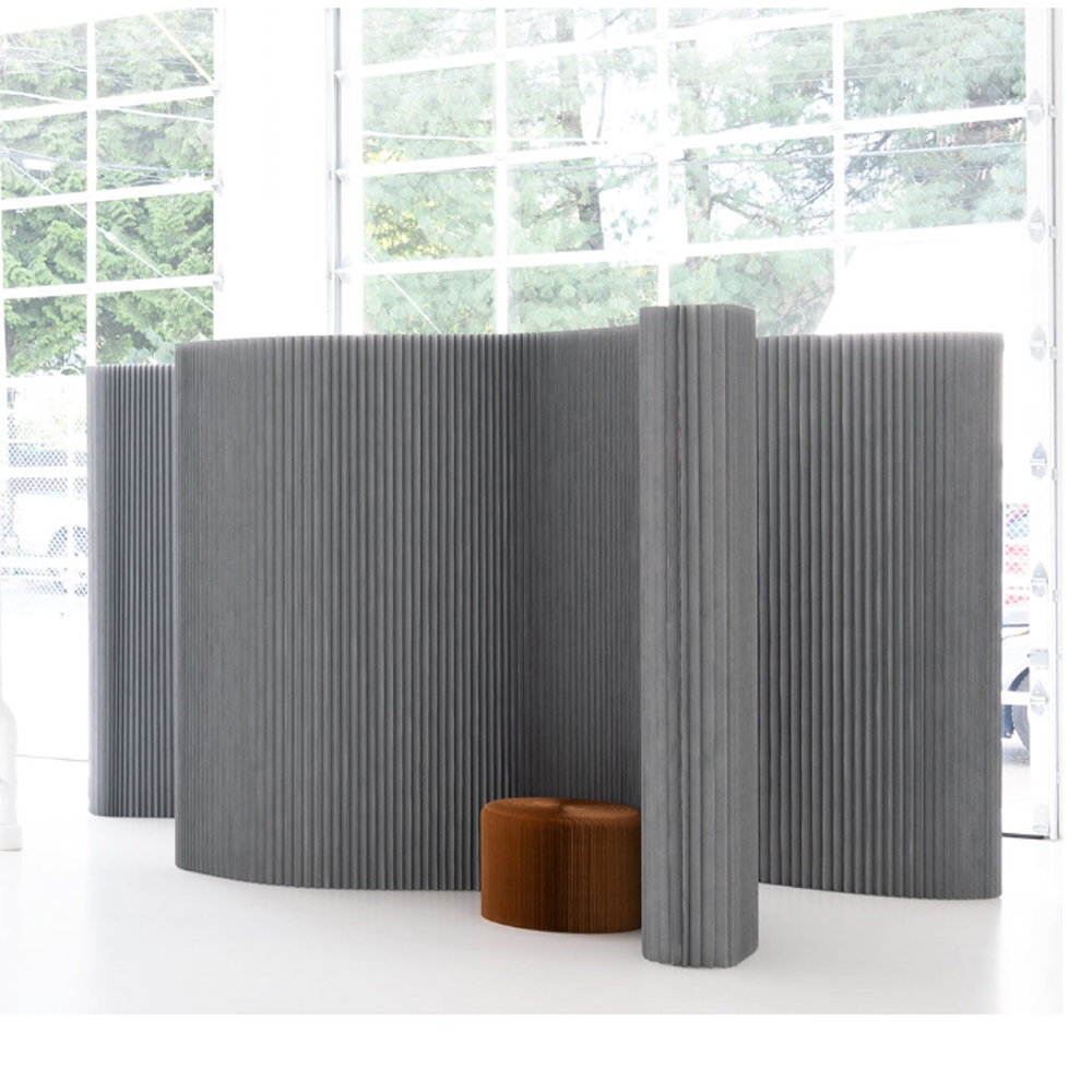 8' softwall gray
