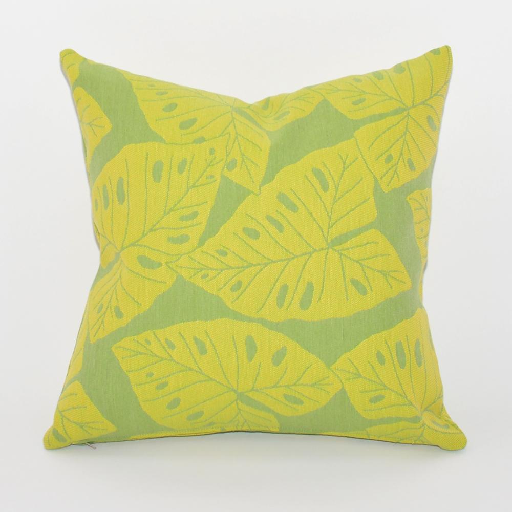 palm leaf pillow