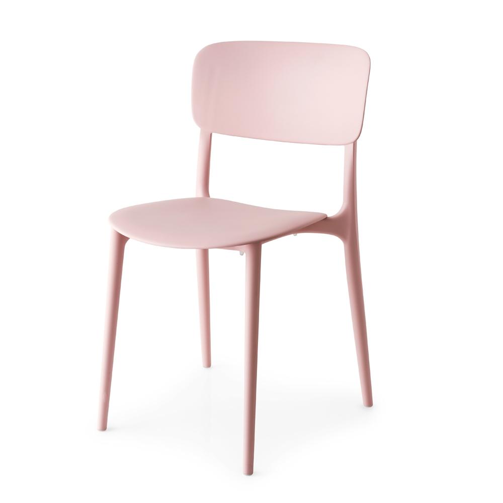 harper chair pink