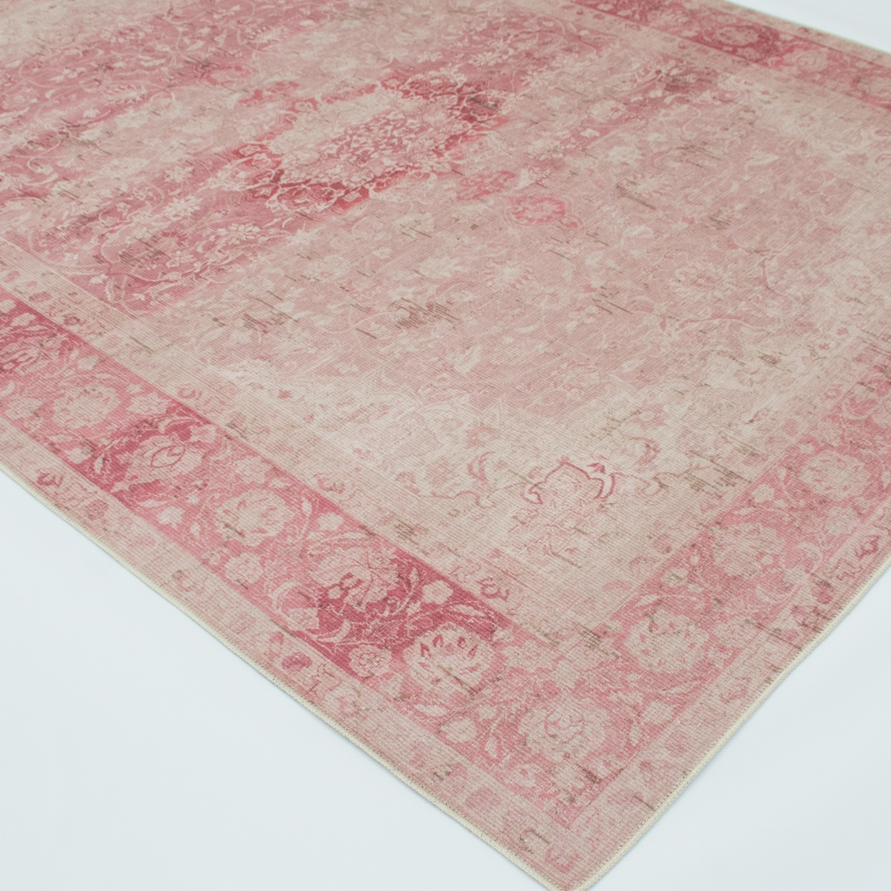 tea rose area rug