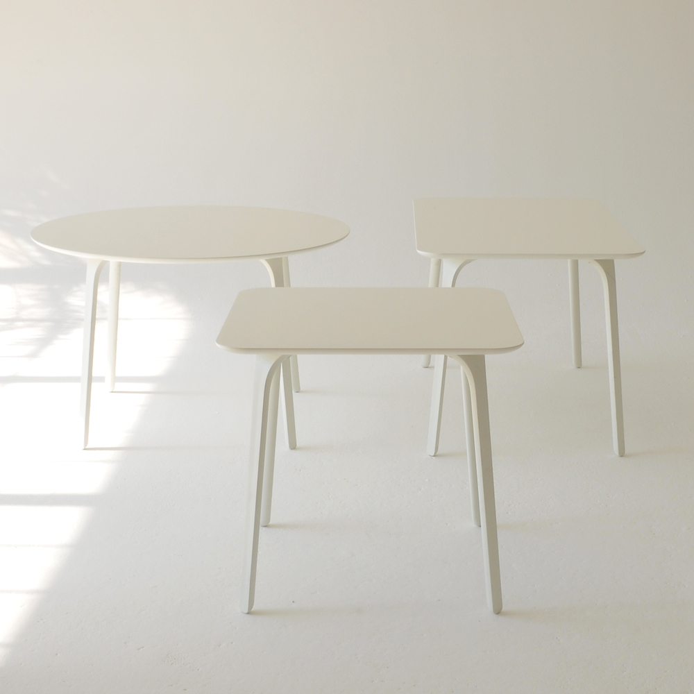 milano tables white