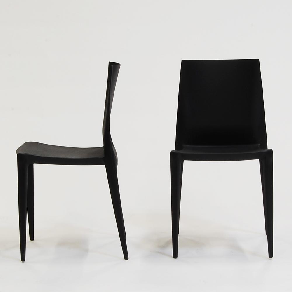 bellini chair black matte
