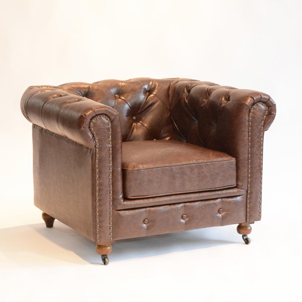 gordon chair brown