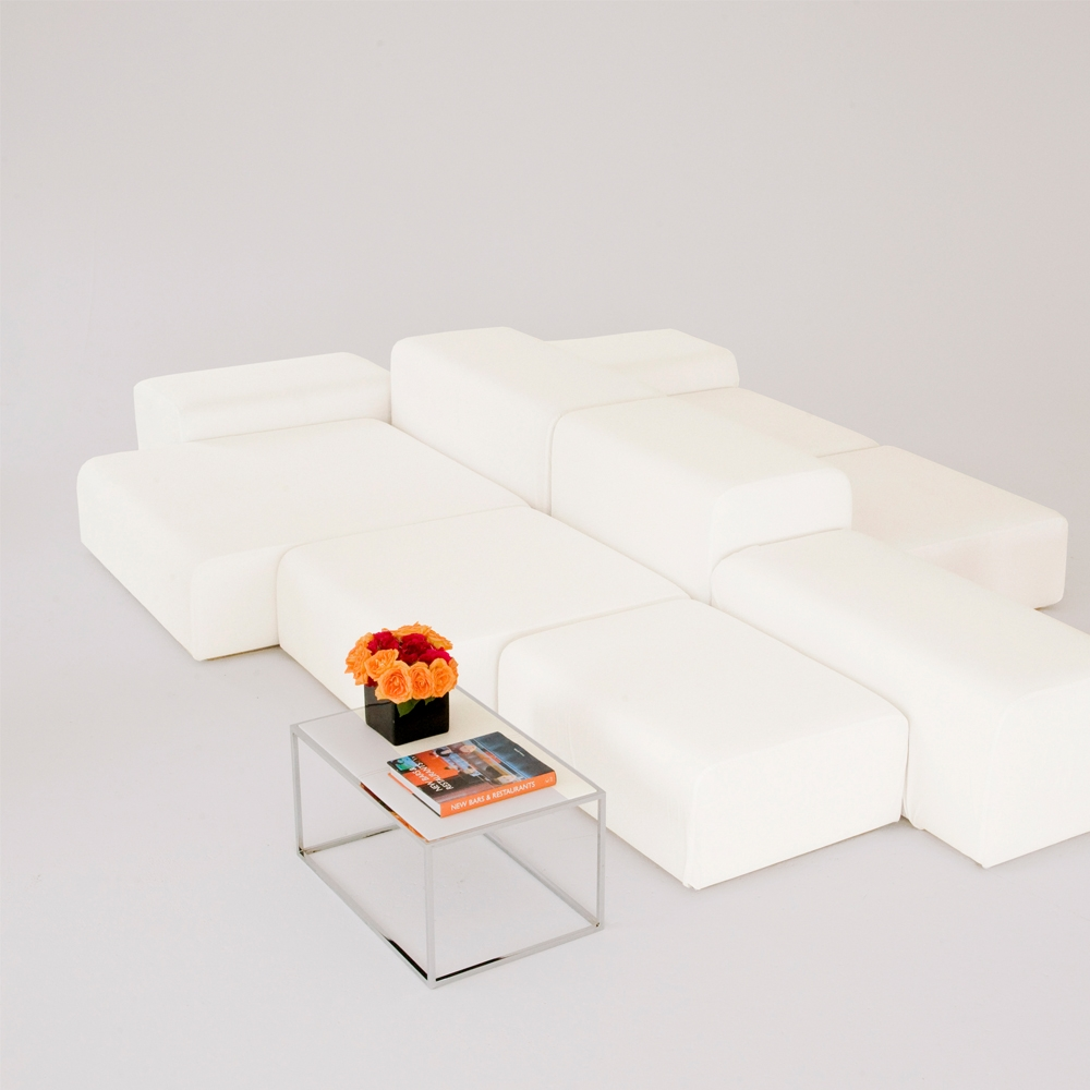 lounge modular white