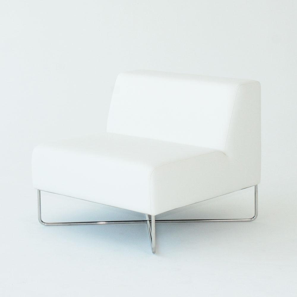 balance chair white