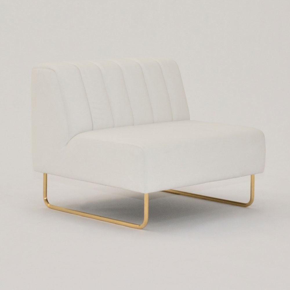 savile chair white