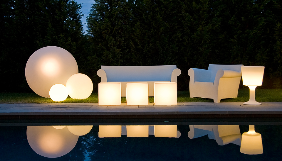 poolside glow