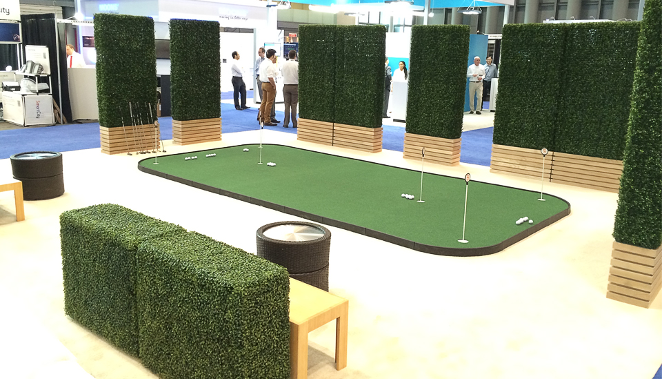 indoor putting