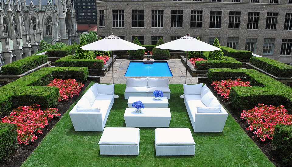 roof garden reception