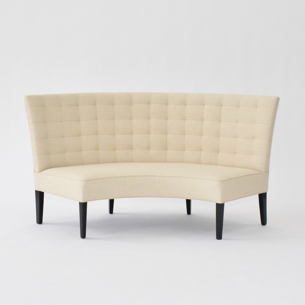madison banquette natural