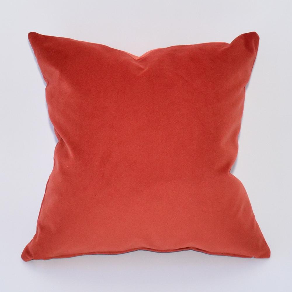 cayenne velvet pillow