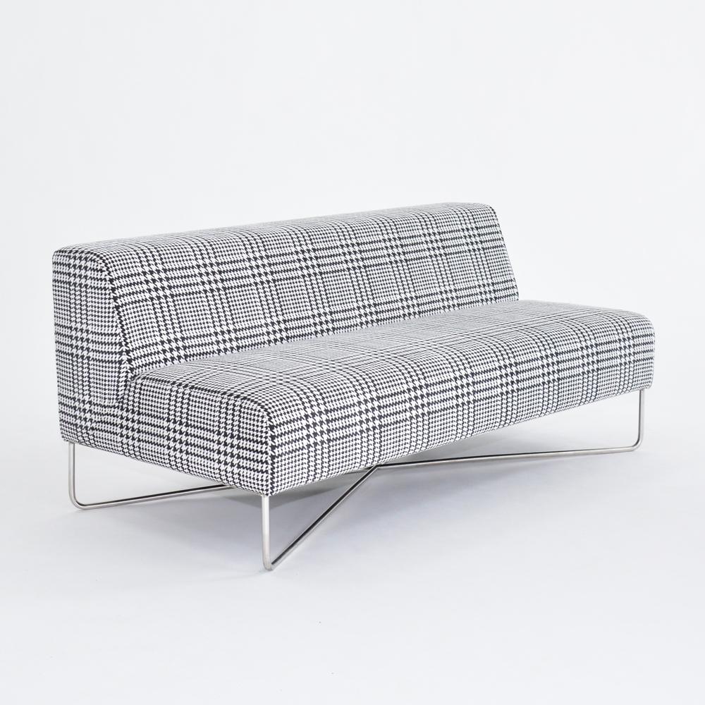 balance sofa plaid
