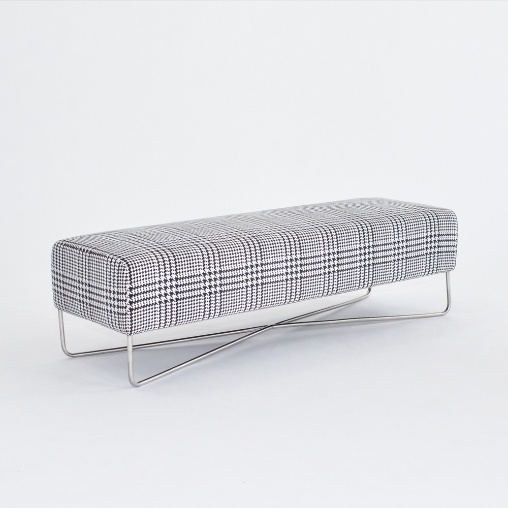 balance bench plaid
