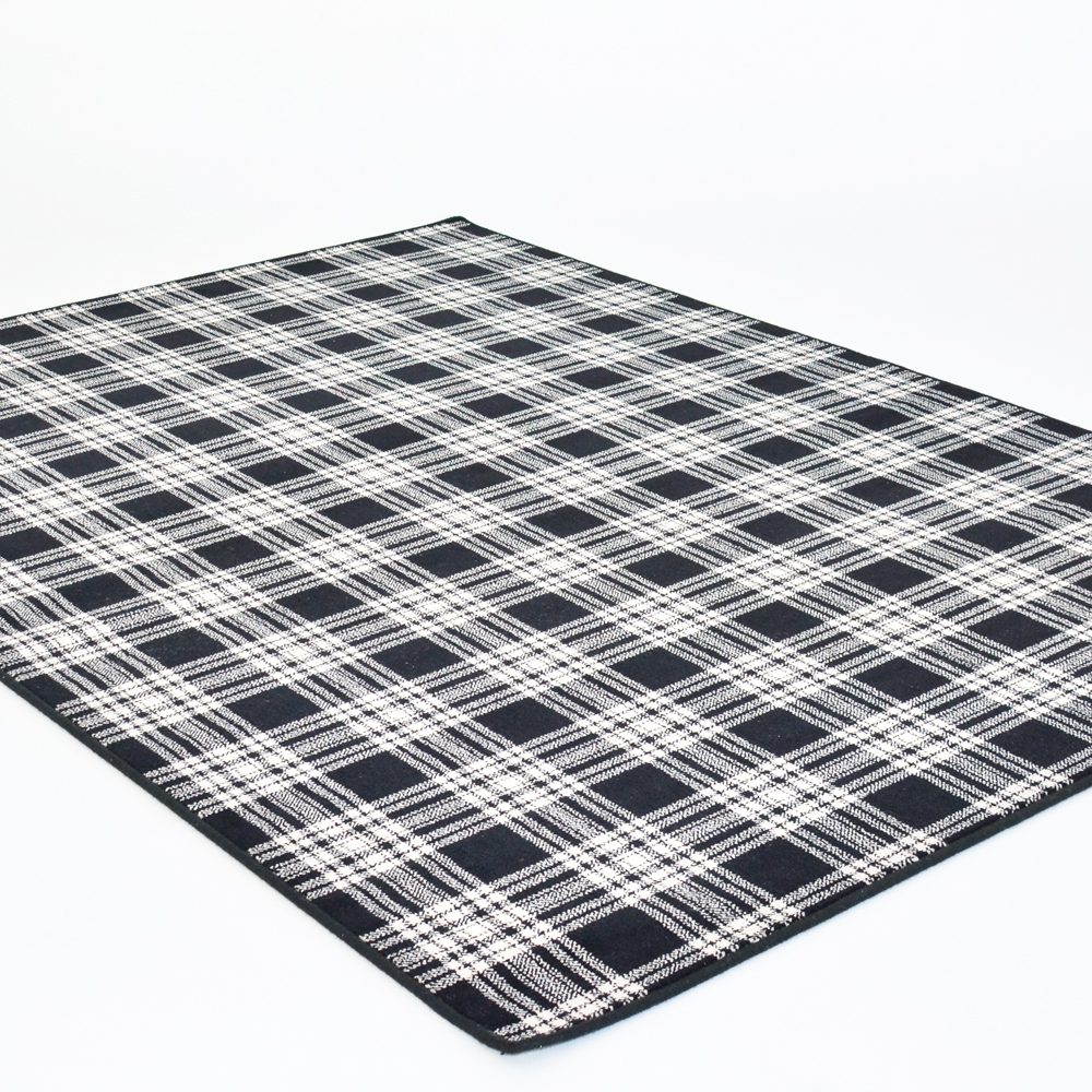 st andrews plaid area rug