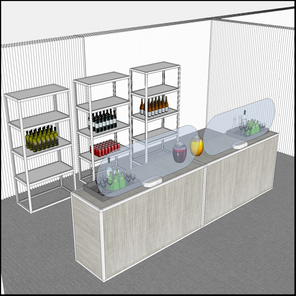 softwall beverage service