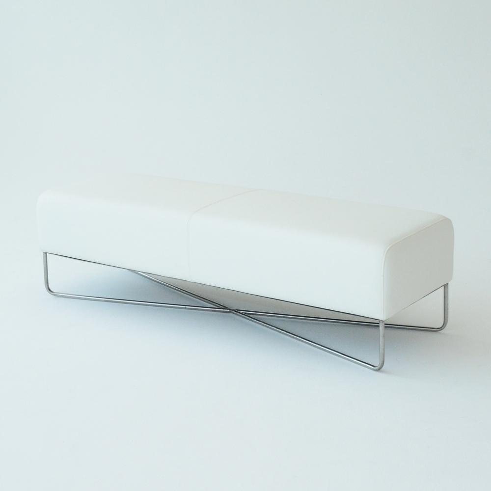 balance bench white