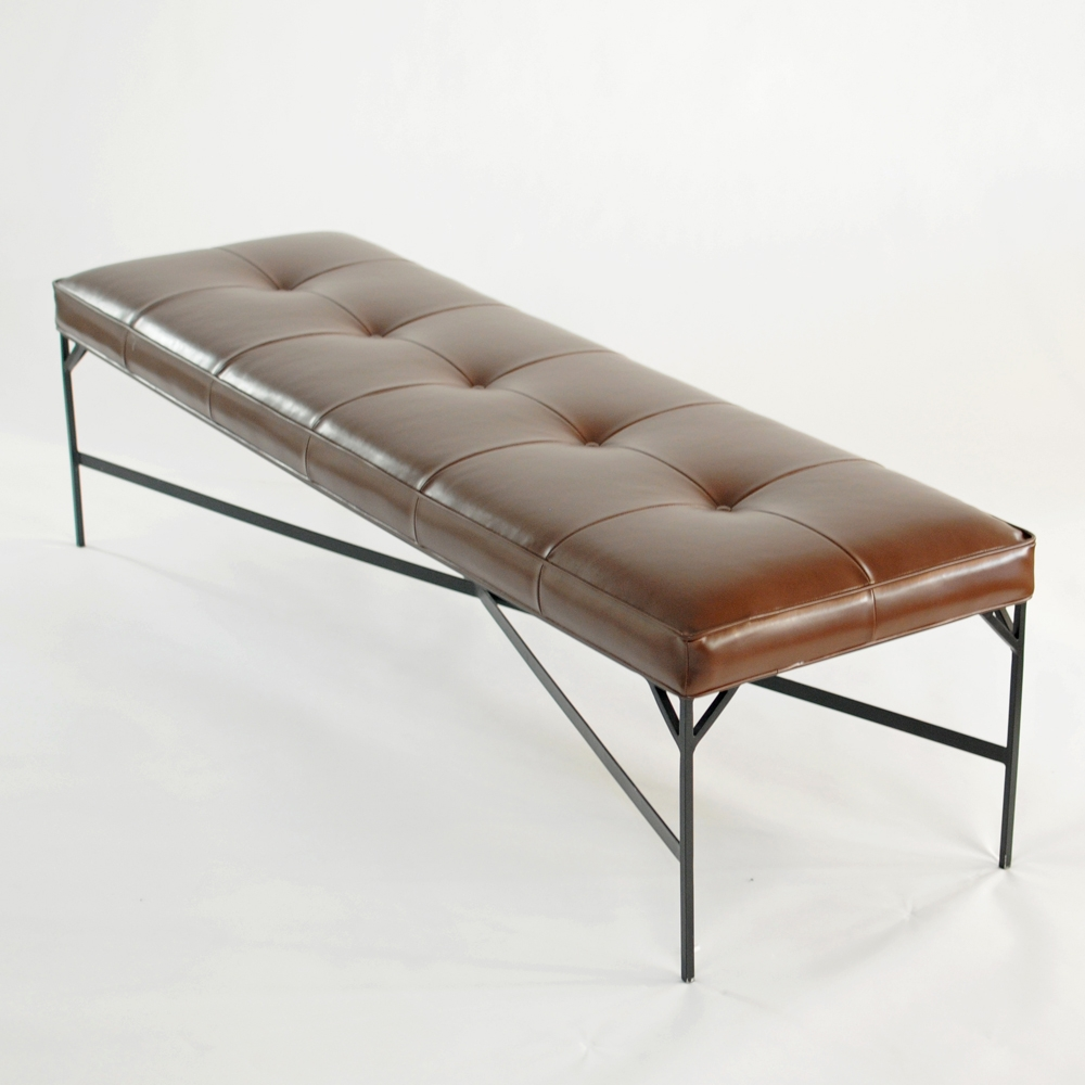 studio bench brown