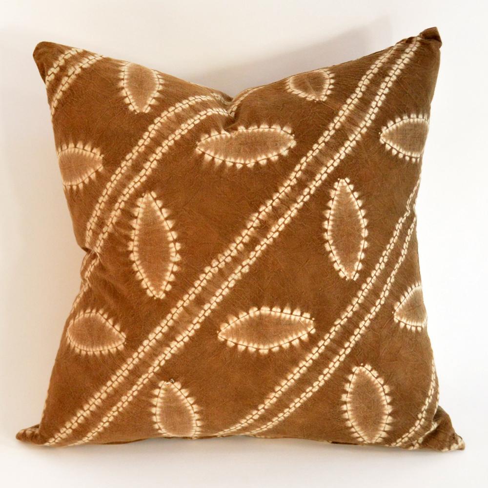 batik stripe pillow
