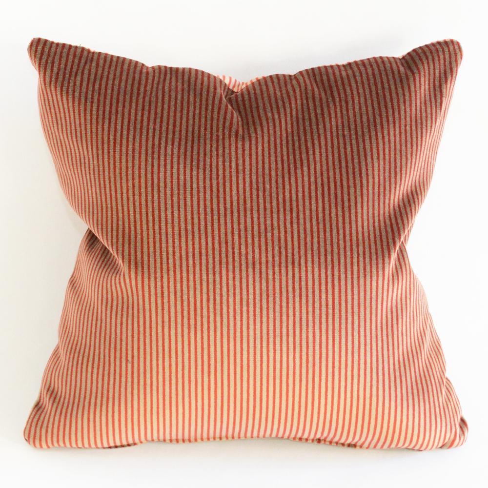 lush stripe pillow