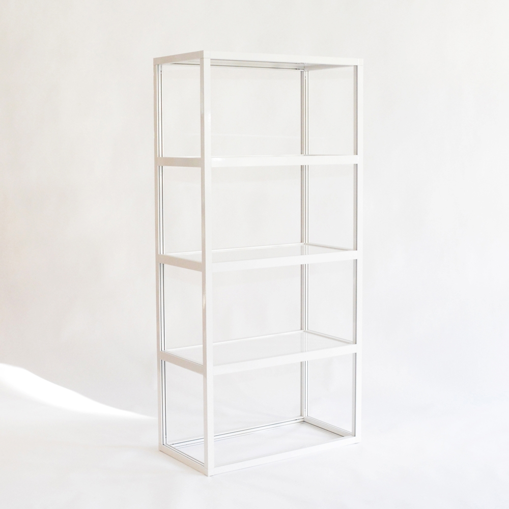 pure display shelves