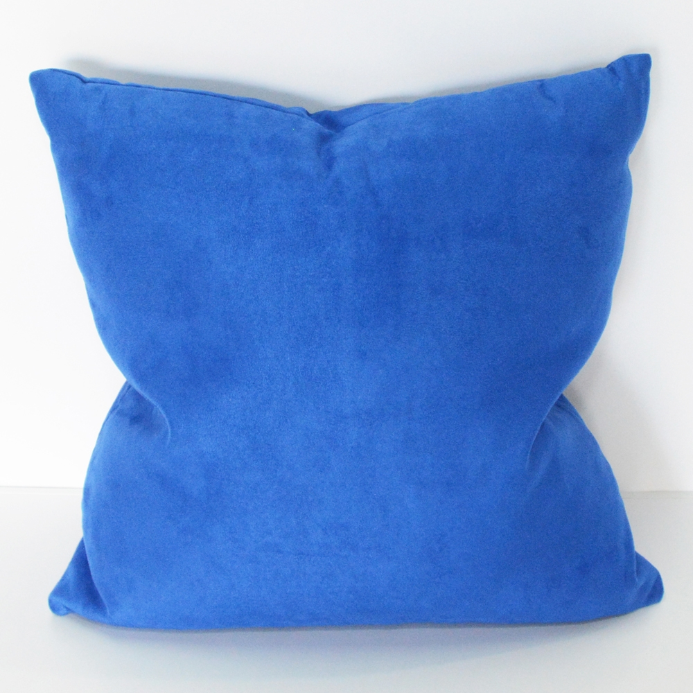 cobalt pillow