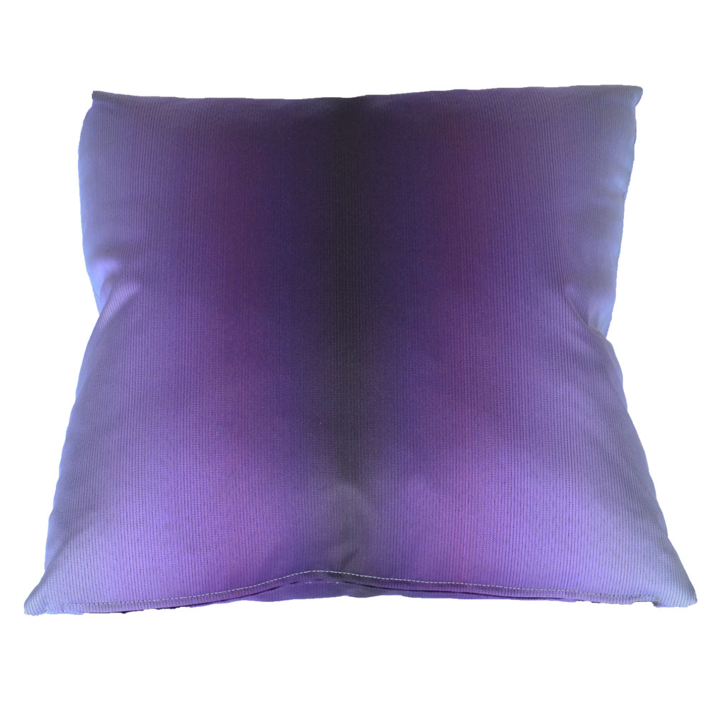 gradient purple pillow