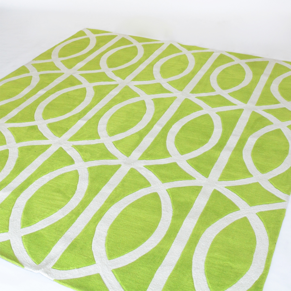 infinity area rug