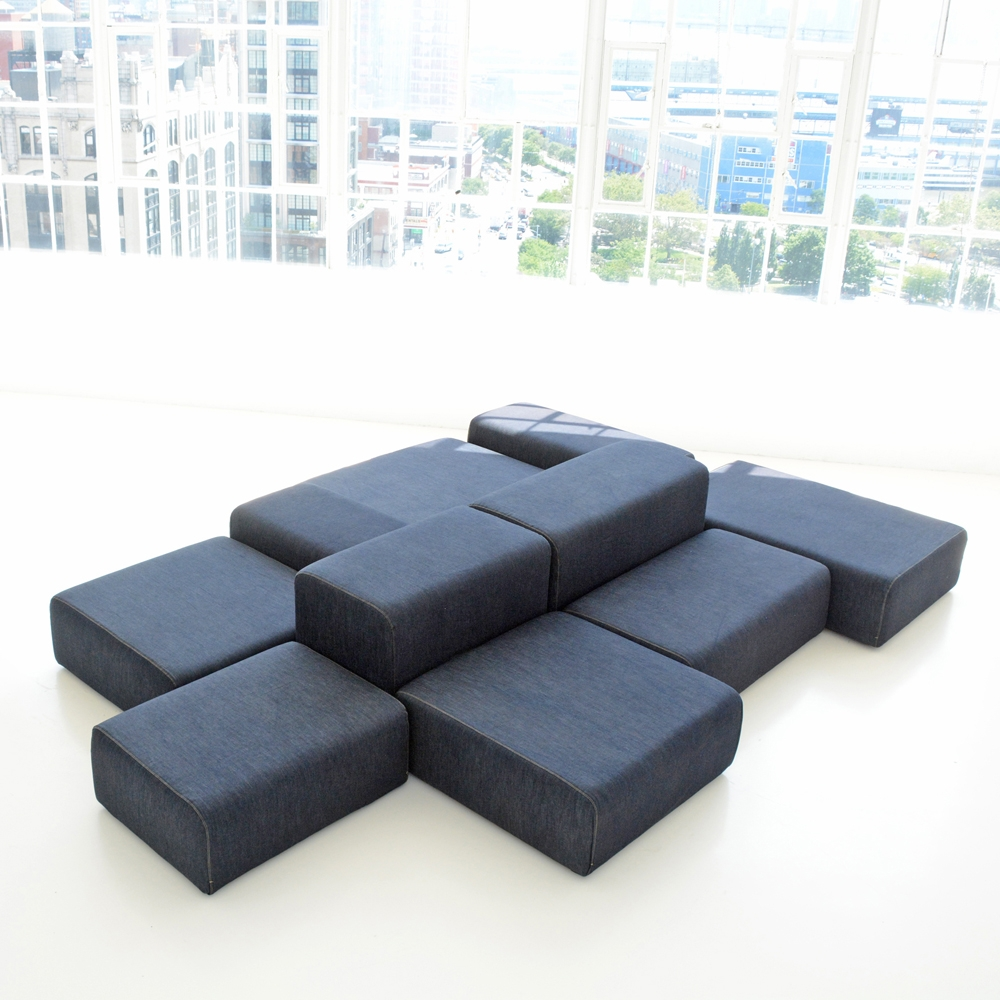 lounge modular denim