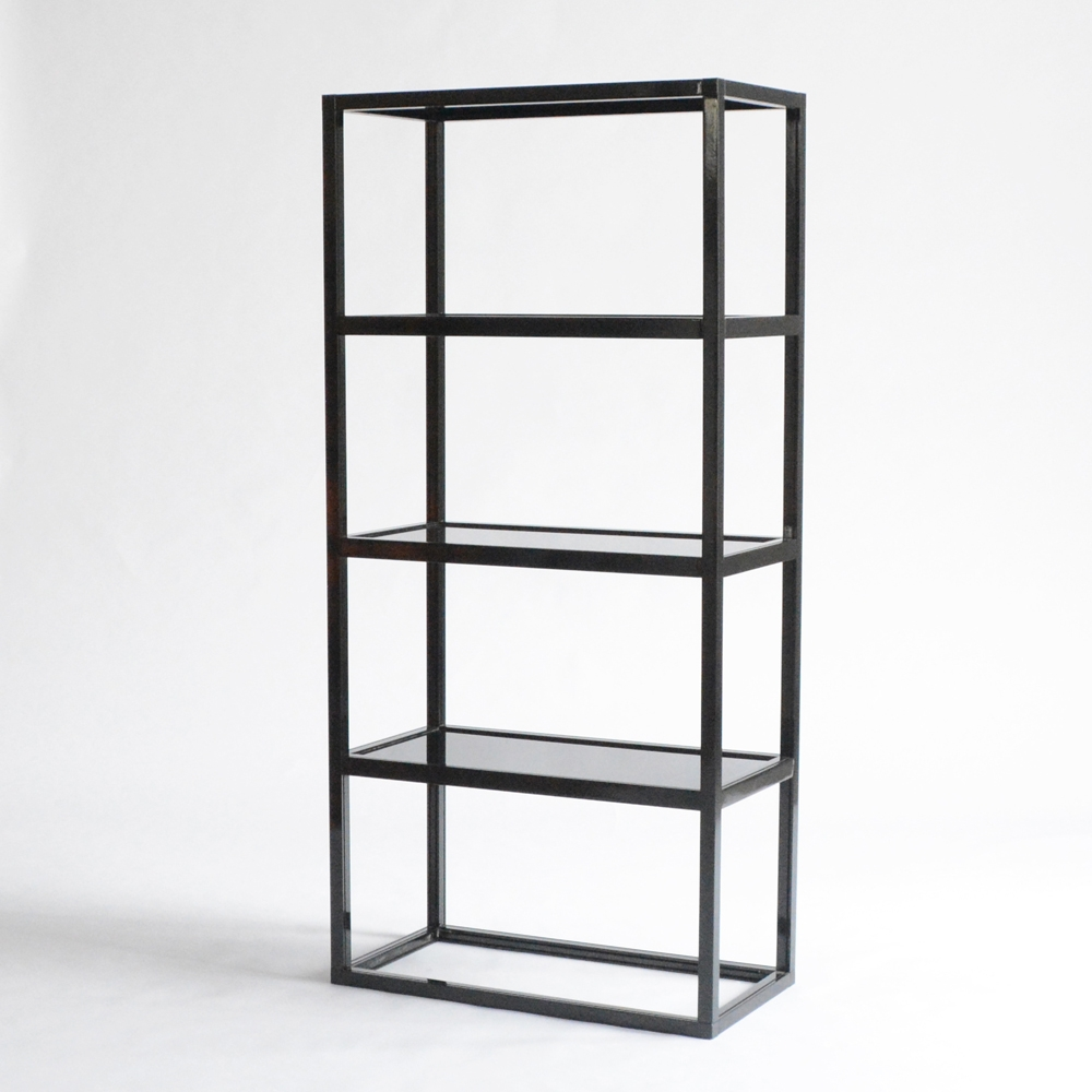 midnight display shelves