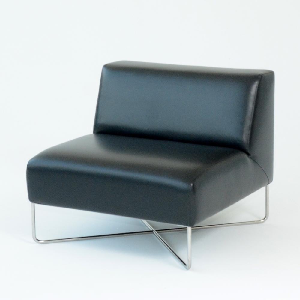 balance chair black