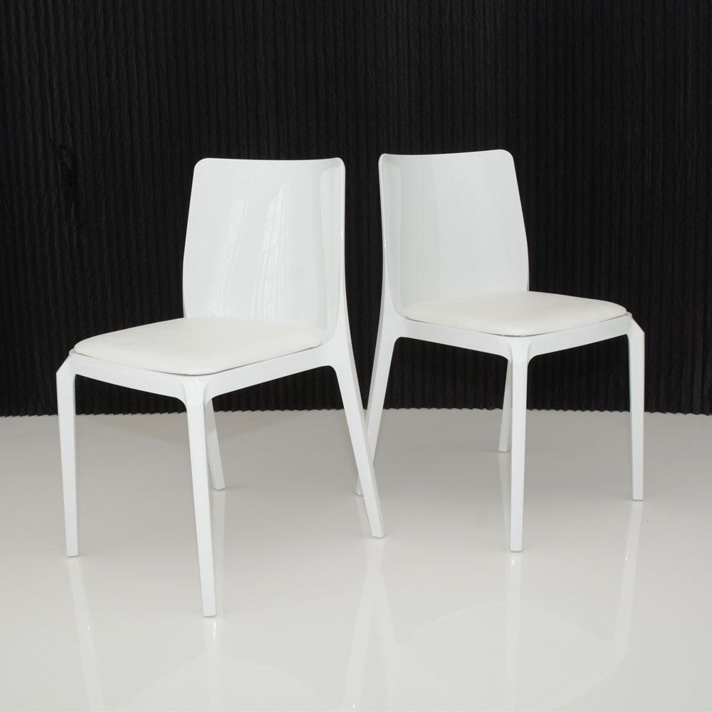 whitney chair white