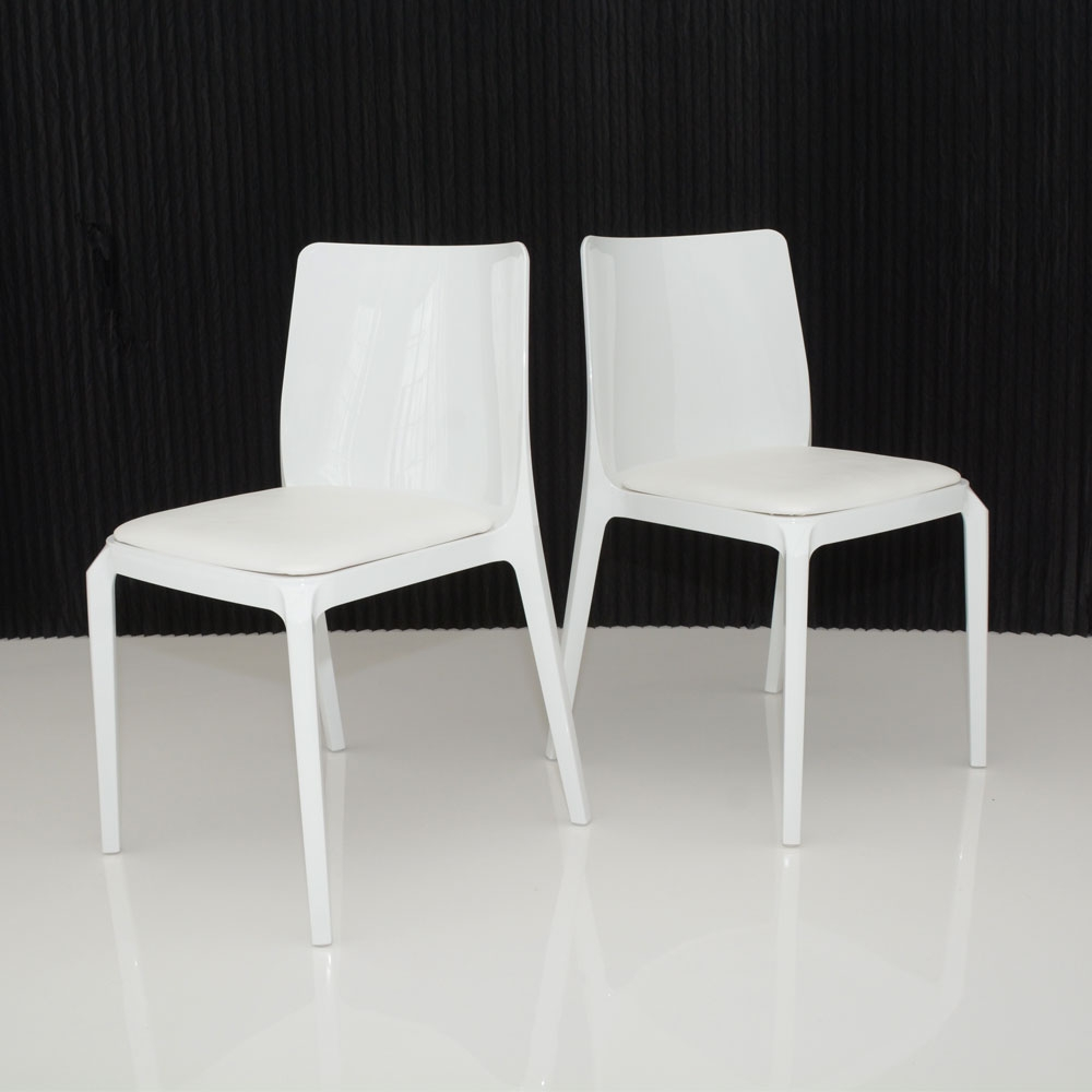 whitney chair white