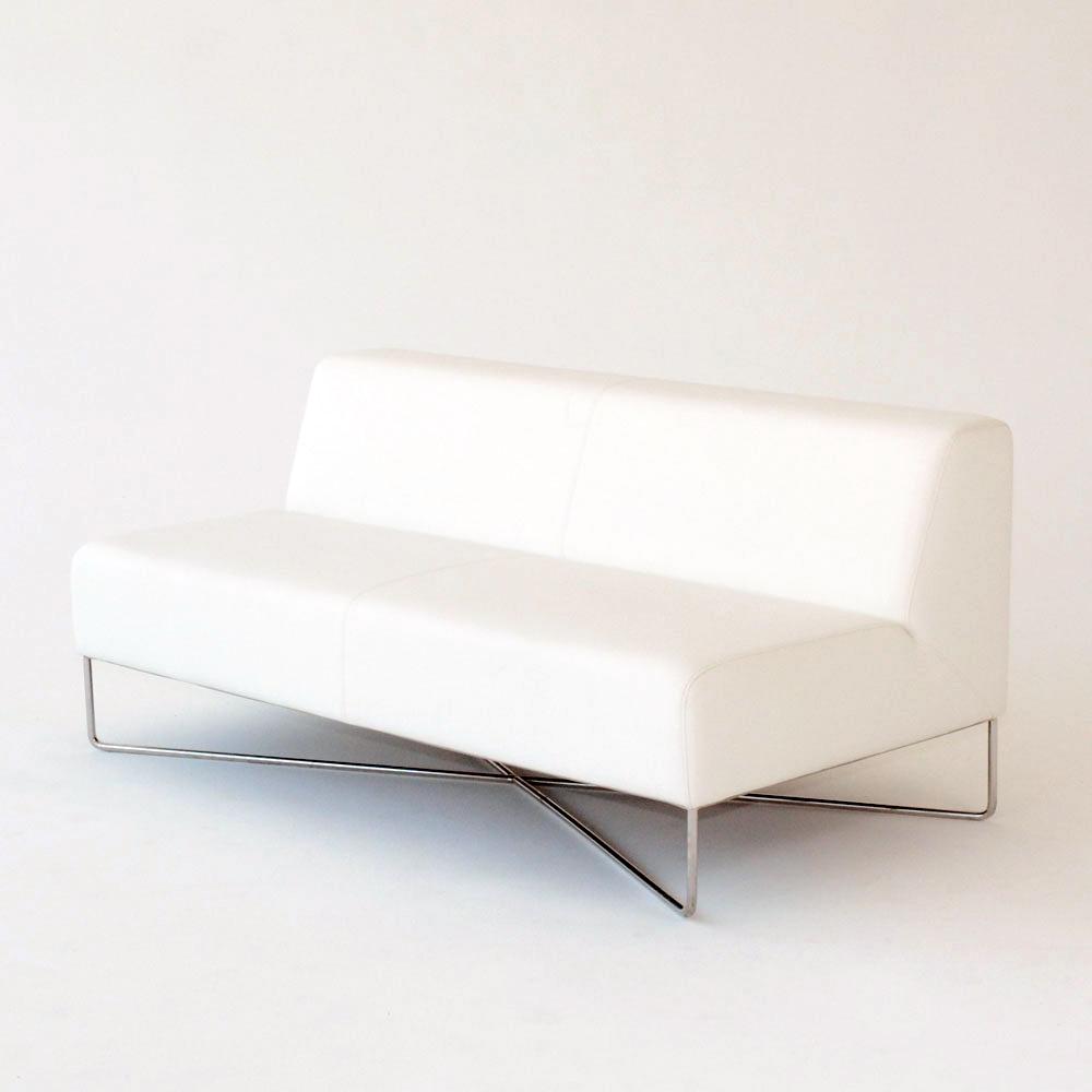 balance sofa white