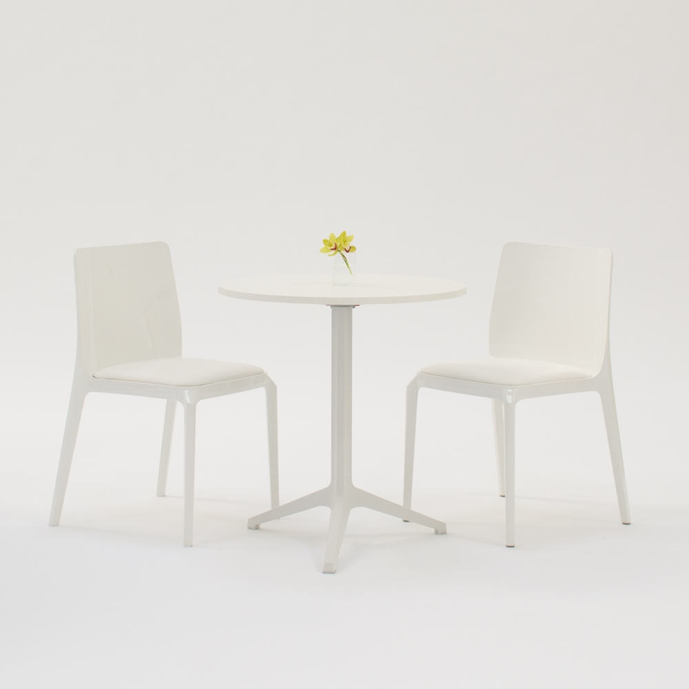 cafe table white