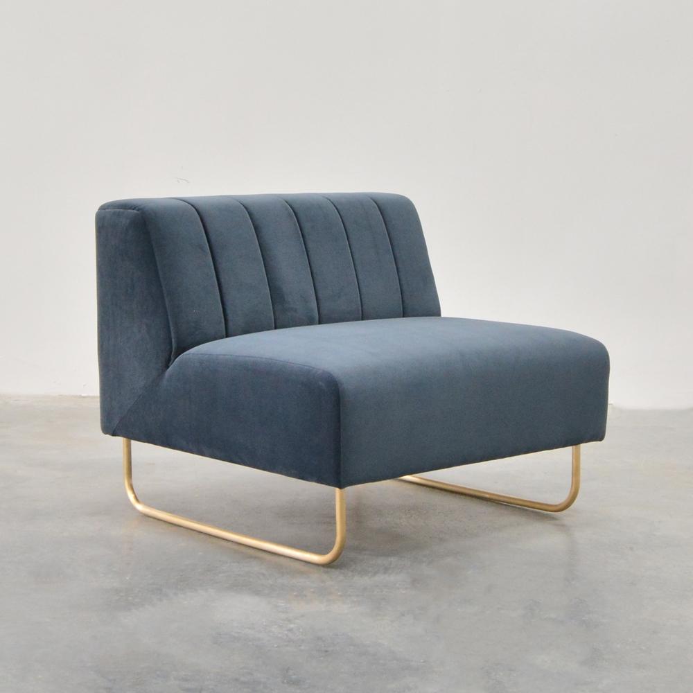 savile chair gray