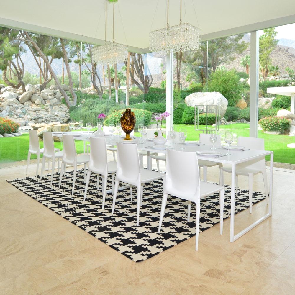bellini chair white matte