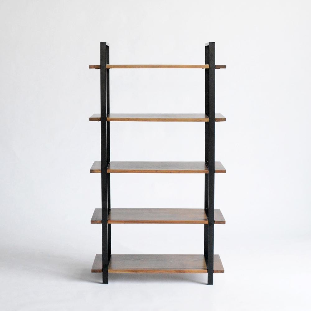 loft display shelves